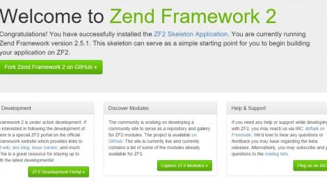 Install Zend 2 Framework untuk Pemula