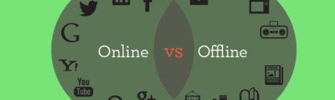Iklan online vs offline