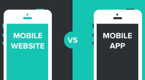 mobile app dan mobile web
